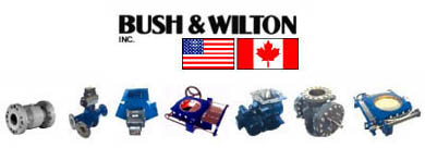 Bush & Wilton is a manufacturer of control valves & gates - rotary valves, pinch valves, butterfly valves, slide gates, ni-hard elbows.  We are their bulk processing machinery representative based in Missouri with a focus on central USA.